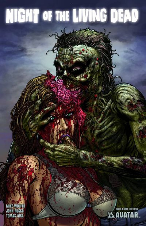 Night of the Living Dead #4 (Gore Cover)