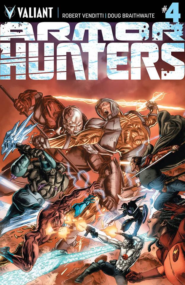 Armor Hunters #4 (Braithwaite Cover)