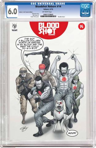 Bloodshot: Reborn #14 (CGC Replica Henry Cover)