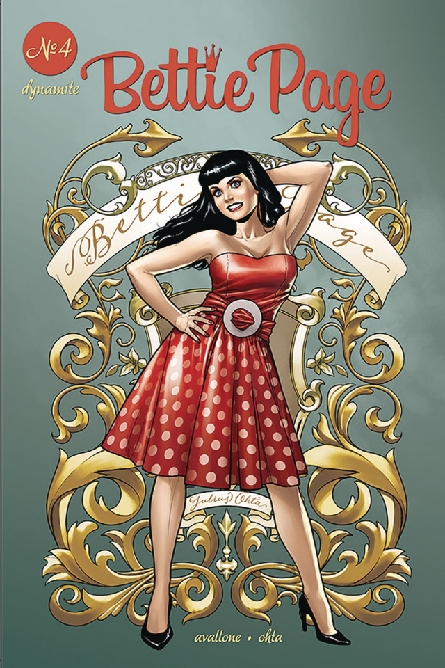 Bettie Page #4 (Ohta Cover)