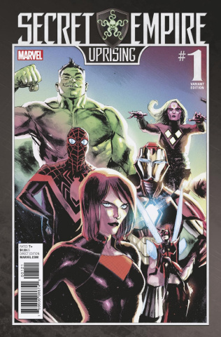 Secret Empire: Uprising #1 (Albuquerque Cover)