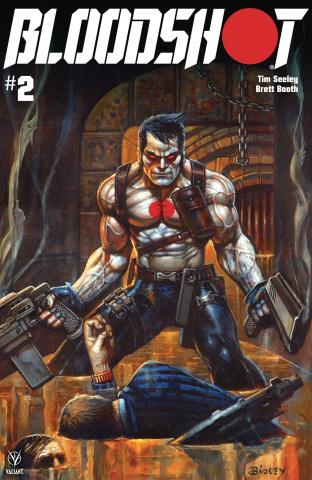 Bloodshot #2 (Bisley Cover)