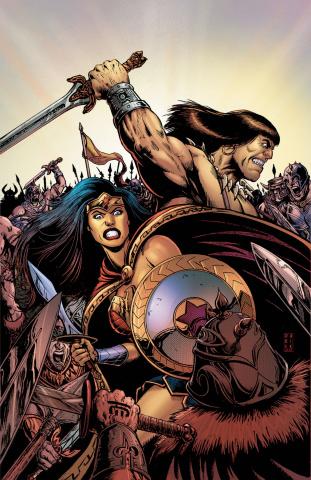 Wonder Woman / Conan #1