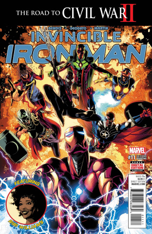 Invincible Iron Man #11 (Deodato 2nd Printing)