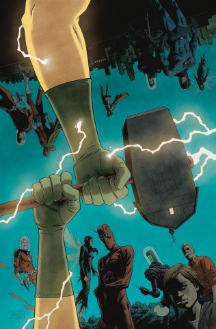 Black Hammer: Age of Doom #11 (Rivera Cover)