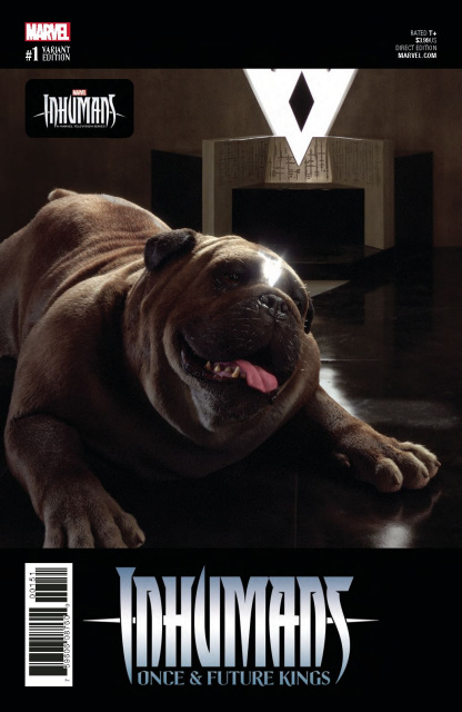 Inhumans: Once & Future Kings #1 (Television Cover)