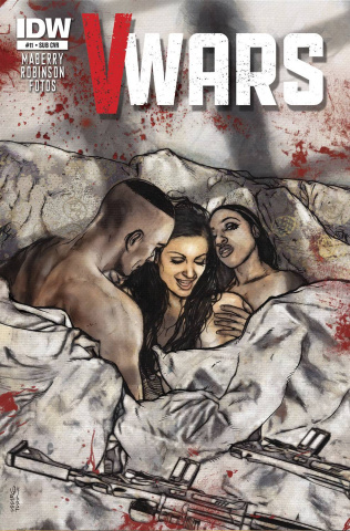V-Wars #11 (Subscription Cover)