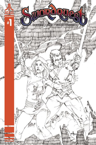 Swordquest #1 (20 Copy Rubi B&W Cover)