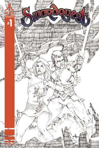 Swordquest #1 (20 Copy Rubi B&W Cover)