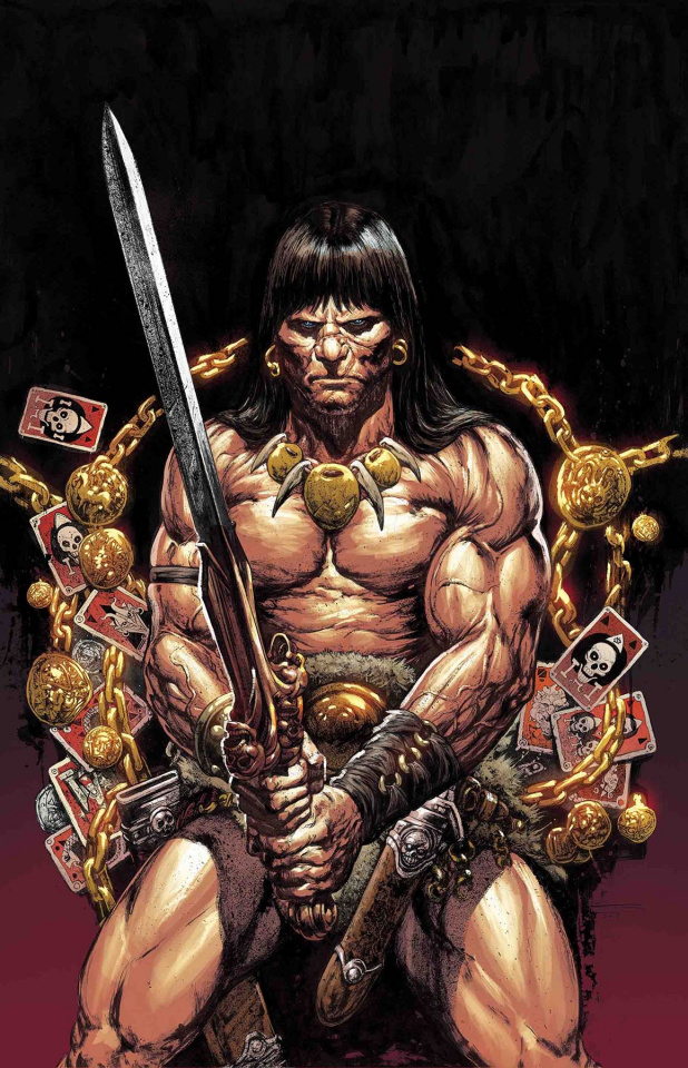 The Savage Sword of Conan #8 (Manco Cover)