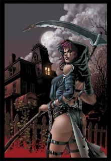 Grimm Fairy Tales: Grimm Tales of Terror #5 (Ortiz Cover)
