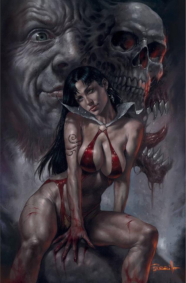 Vampirella #22 (Parrillo Virgin Cover)