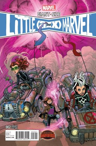 Giant-Size Little Marvel: AvX #2 (Bradshaw Cover)