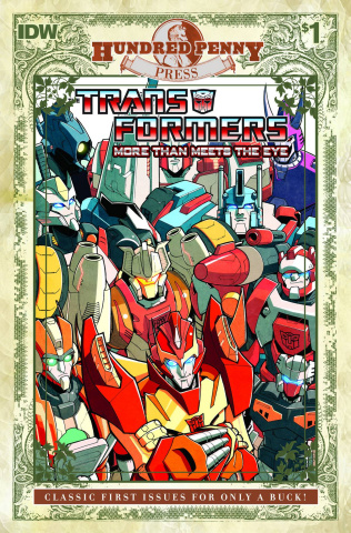 The Transformers: More Than Meets the Eye #1 (100 Penny Press)