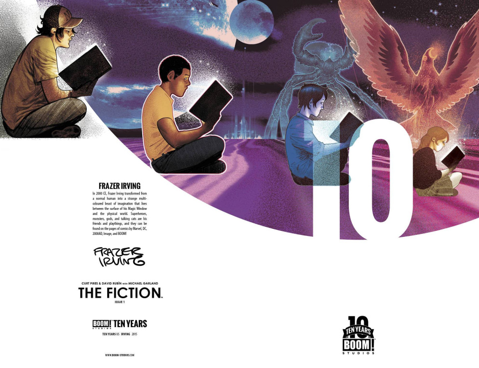 The Fiction #1 (10 Copy 10 Years Irving Cover)