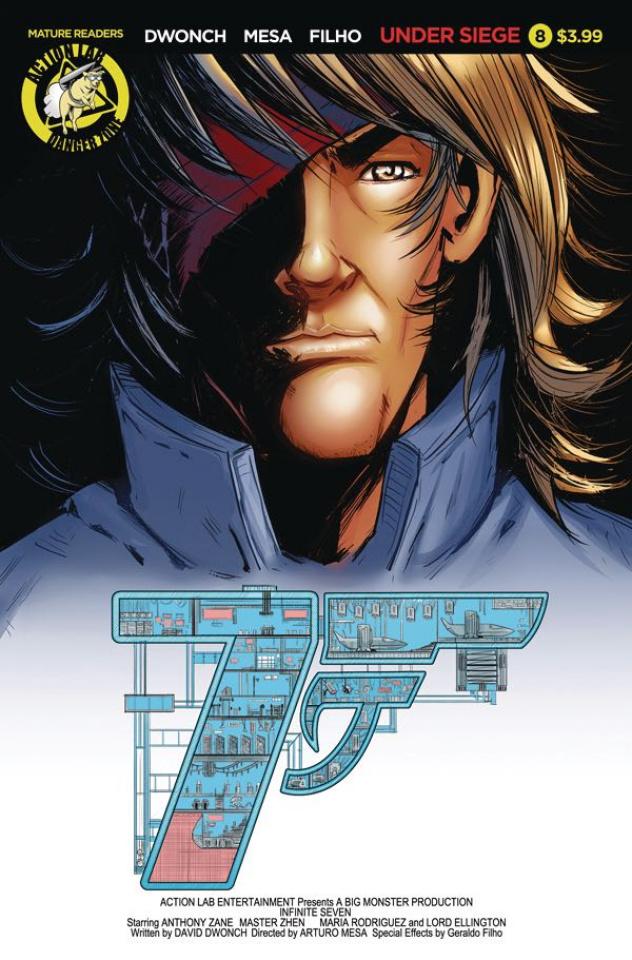Infinite Seven #8 (Mesa Cover)