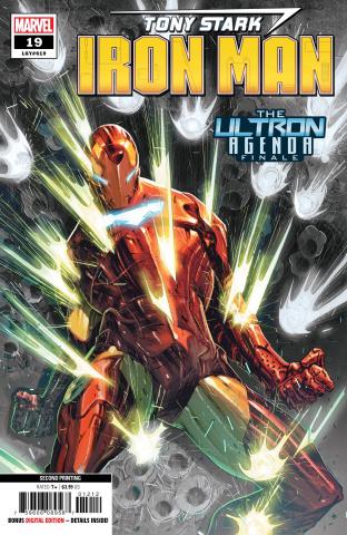 Tony Stark: Iron Man #19 (Lozano 2nd Printing)