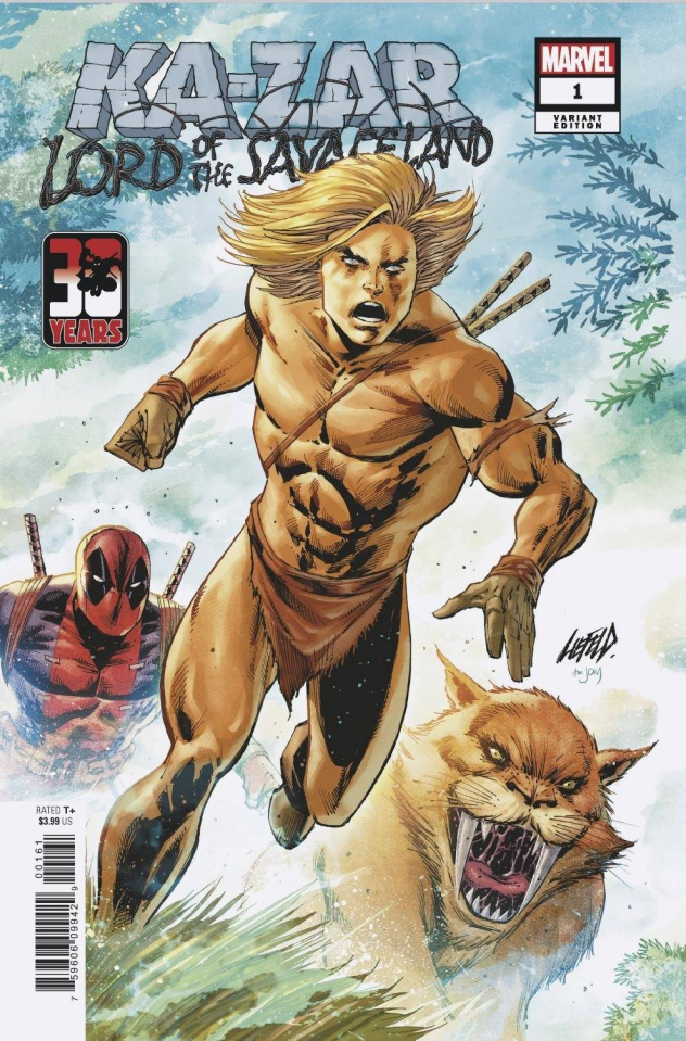 Ka-Zar: Lord of the Savage Land #1 (Liefeld Deadpool 30th Anniversary Cover)