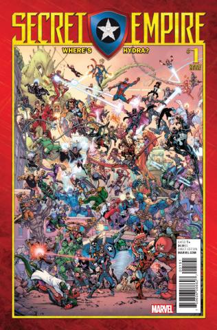 Secret Empire #1 (Nauck Party Cover)