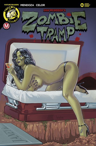 Zombie Tramp #36 (Herman Cover)