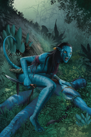 Avatar: Tsu Tey's Path #4 (Wheatley Cover)