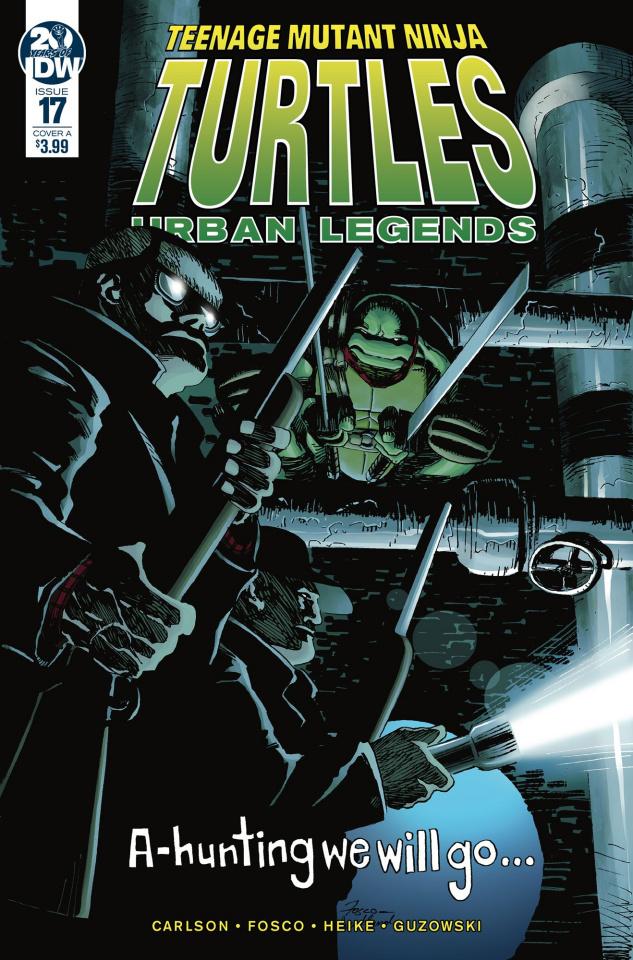Teenage Mutant Ninja Turtles: Urban Legends #17 (Fosco Cover)