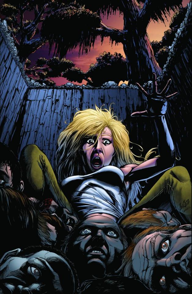 Grimm Fairy Tales: Sleepy Hollow #4 (Eric J Cover)