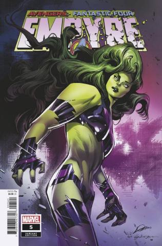 Empyre #5 (Lozano Avenger Cover)
