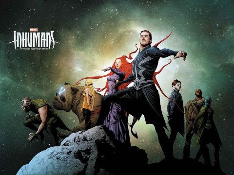 Inhumans: Judgement Day #1 (Jae Lee Wraparound TV Cover)