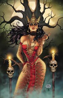 Grimm Fairy Tales: Tarot #6 (Salonga Cover)