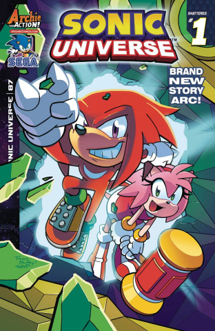 Sonic Universe #87 (Yardley Cover)