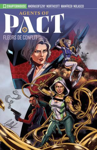 Agents of P.A.C.T. Vol. 1: Fleurs De Conflit
