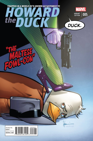 Howard the Duck #5 (Chaykin Cover)