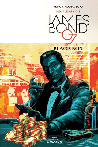 James Bond: Black Box #2 (Masters Cover)