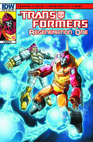 The Transformers: Regeneration One #97