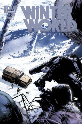 Winterworld: Frozen Fleet #1 (Subscription Cover)