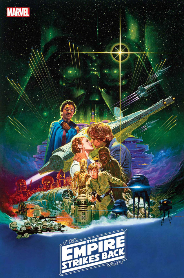 Star Wars: The Empire Strikes Back 40th Anniversary Special #1 (Sprouse Movie Poster Cover)
