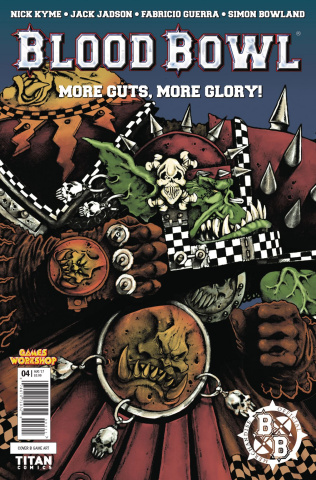 Blood Bowl: More Guts, More Glory! #4 (Classic Game Cover)