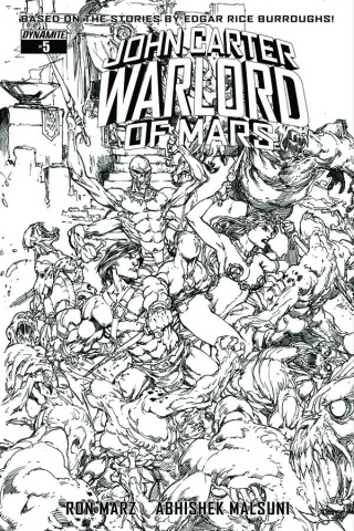John Carter: Warlord of Mars #5 (20 Copy Benes B&W Cover)