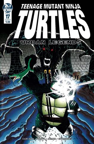 Teenage Mutant Ninja Turtles: Urban Legends #17 (Fosco & Larsen Cover)
