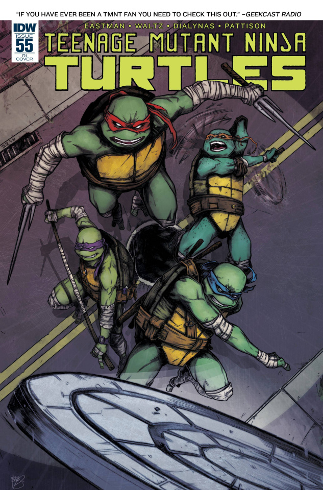Teenage Mutant Ninja Turtles #55 (10 Copy Cover)