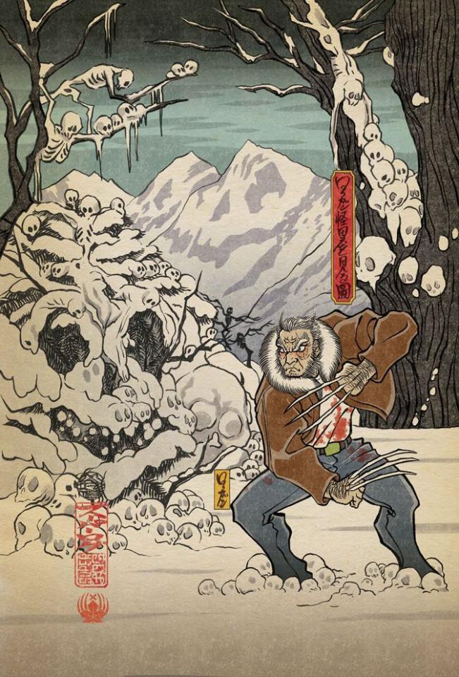 Dead Man Logan #1 (Superlog Cover)