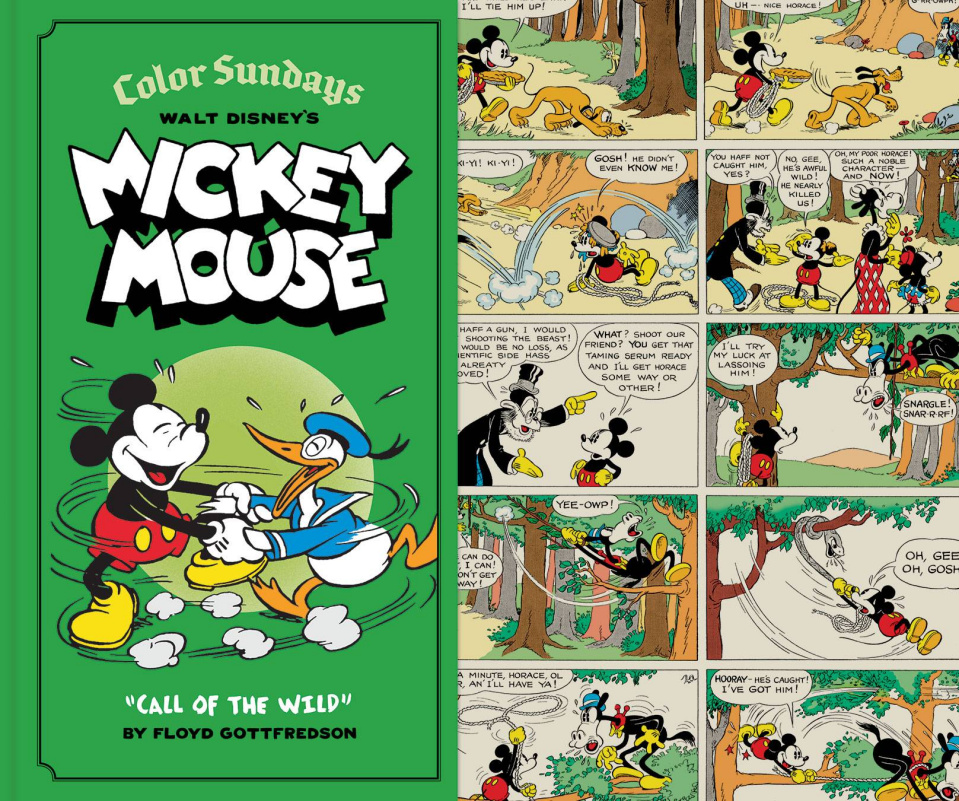 Walt Disney's Mickey Mouse: Color Sundays Vol. 1: Call of the Wild