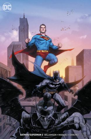 Batman / Superman #2 (Variant Cover)