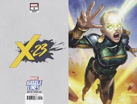 X-23 #5 (Jong-Ju Kim Marvel Battle Lines Cover)