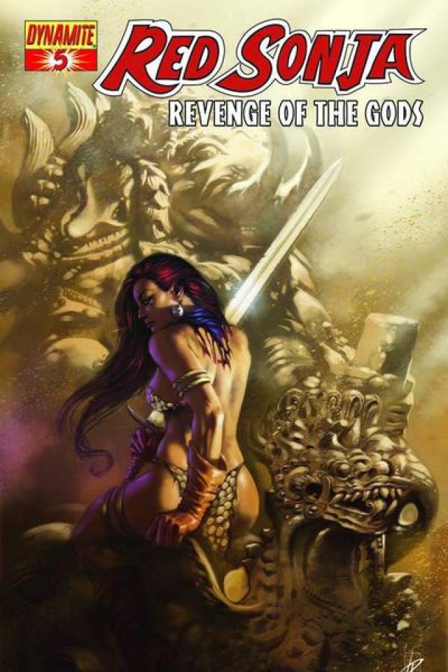 Red Sonja: Revenge of the Gods #5