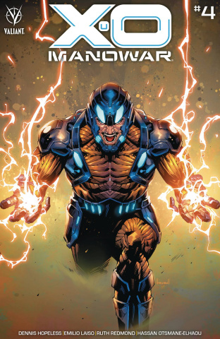 X-O Manowar #4 (Ngu Cover)