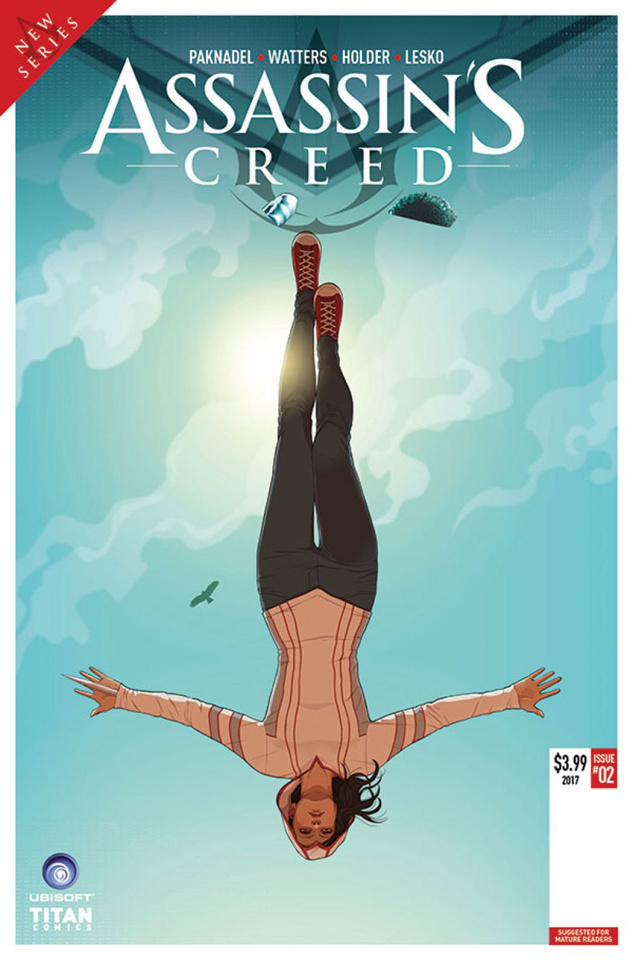 Assassin's Creed: Uprising #2 (Doubleleaf Cover)