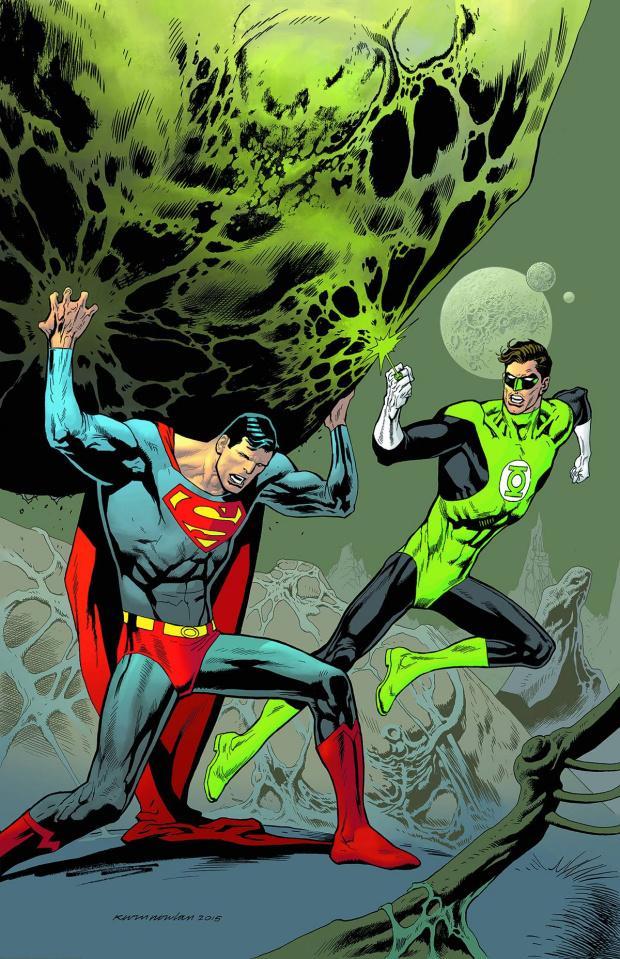 Superman #44 (Green Lantern 75th Anniversary Cover)