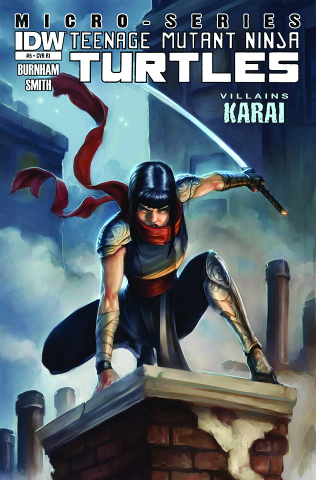 Teenage Mutant Ninja Turtles: Villain Micro-Series #5: Karai